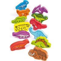"""Деревянная игрушка """"Динозавры"""", Hape"""