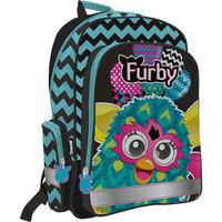 """Школьный рюкзак """"Furby"""" с эргономической EVA-спинкой Академия групп"""