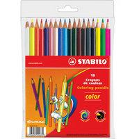 STABILO Color  Набор цветных карандашей 18цв