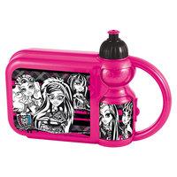 Набор сэндвич-бокс и бутылочка, Monster High Новый Диск