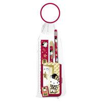 Hello Kitty Набор канцелярский: карандаш, пенал, линейка, ручка Академия групп