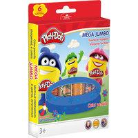 Цветные карандаши, 6 шт., Play-Doh Академия групп