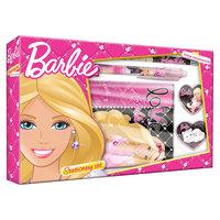 Barbie Набор канцелярский: записная книжка, ручка, карандаш, в подарочной коробке Академия групп