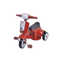 Велосипед трехколесный, красный, 1Toy -