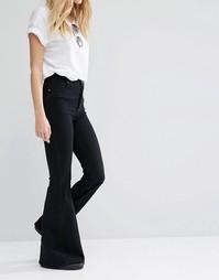 Супероблегающие расклешенные джинсы с завышенной талией Dr Denim Tracy