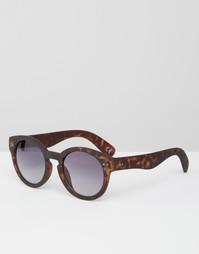 Круглые очки ASOS Keyhole - Черный