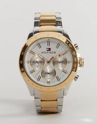 Часы из металла разного цвета Tommy Hilfiger Hudson 1791226 - Золотой