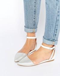 Туфли на плоской подошве с ремешком на щиколотке Call It Spring Cavizz