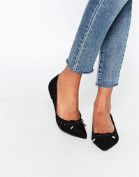 Черные туфли на плоской подошве Miss KG Mitsie - Черный