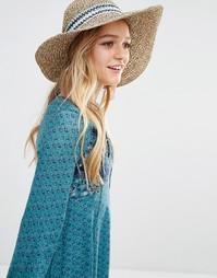 Соломенная шляпа Hollister - Естественный