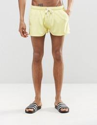 Короткие шорты для плавания Heist - Желтый
