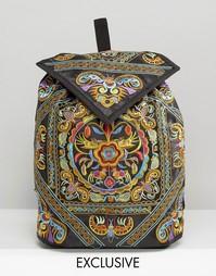 Рюкзак с декоративной вышивкой Reclaimed Vintage - Мульти