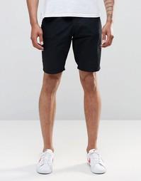 Черные прямые шорты чиносы Blend - Черный