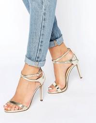 Сандалии на каблуке с ремешками Call It Spring Staval - Золотой