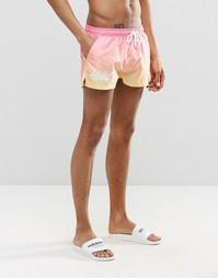 Короткие шорты для плавания Heist - Розовый