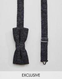 Черный галстук‑бабочка Reclaimed Vintage - Черный