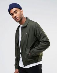 Куртка Харрингтон на молнии Farah - Зеленый