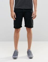 Черные джинсовые шорты D-Struct - Черный