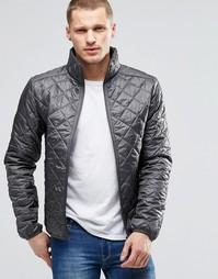 Серая стеганая куртка Blend - Castlerock grey
