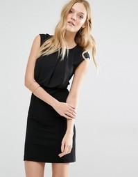 Платье-футляр Y.A.S Faith - Черный