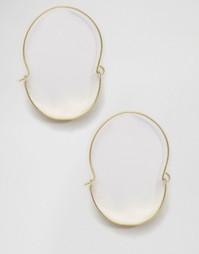 Кольцевидные серьги-подвески Made - Золотой