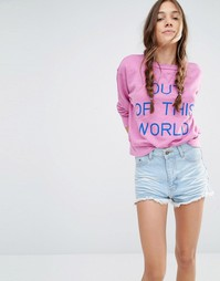 Свитшот Wildfox Out Of This World - Laven dream