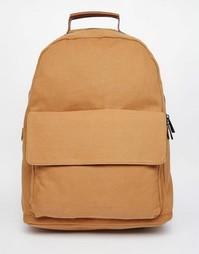 Парусиновый рюкзак ASOS - Рыжий