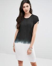 Цельнокройное платье с принтом деграде Diya - С эффектом деграде