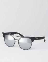 Солнцезащитные очки кошачий глаз с зеркальными стеклами Quay Australia