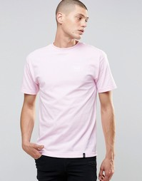 Футболка с логотипом сзади HUF - Розовый