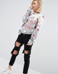 Свитшот с цветочным принтом Adidas Originals Pharrell Williams