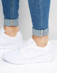 Сетчатые белые кроссовки с резиновыми накладками ASOS - Белый