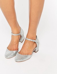 Туфли на каблуке ASOS SPECTRUM - Серебряный