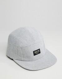 5-панельная кепка Brixton Hoover - Серый