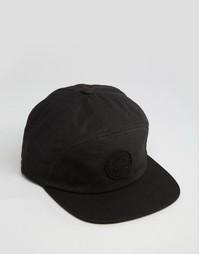 7-панельная кепка Brixton Oath - Черный