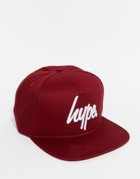 Бейсболка с логотипом Hype - Красный