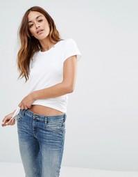 Классическая футболка Diesel - Белый