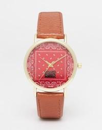 Часы с платочным принтом Reclaimed Vintage - Красный