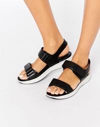 Черные кожаные сандалии Vagabond Lola - Черный