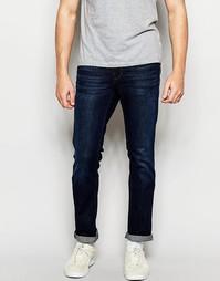 Темные джинсы слим Boss Orange - Синий