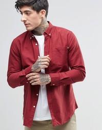 Рубашка на пуговицах с длинными рукавами Farah - Красный