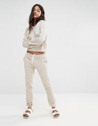 Джоггеры на шнуровке Glamorous - Телесный