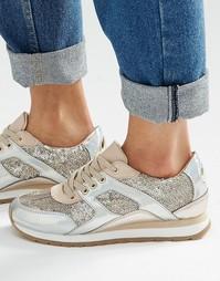 Кроссовки с блестками ALDO - Разноцветный металлик