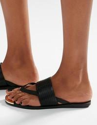 Сандалии с перемычкой между пальцев ALDO - Черный