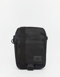 Нейлоновая дорожная сумка с нашивкой ASOS - Черный