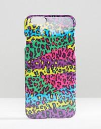 Чехол с леопардовым принтом для iPhone 6 и 6s ASOS - Мульти