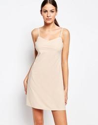Платье-комбинация с глубоким вырезом сзади Spanx - Soft nude