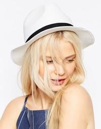 Соломенная шляпа ASOS - Белый