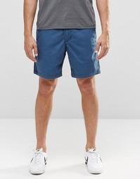 Темно-синие шорты в стиле преппи Abercrombie & Fitch - Темно-синий