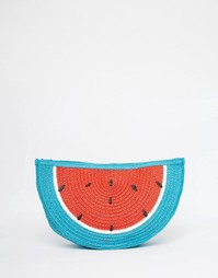 Тканый клатч в виде арбуза South Beach - Арбуз